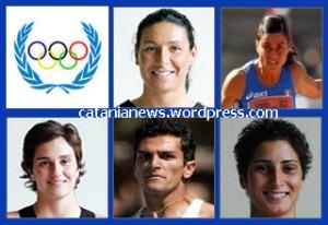I cinque atleti catanesi alle Olimpiadi