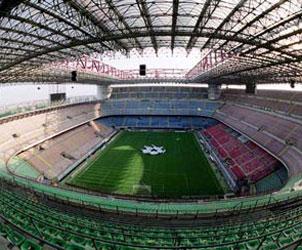 Lo stadio Giuseppe Meazza