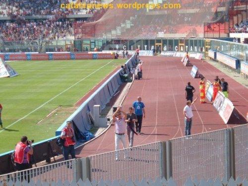 Baiocco, Spinesi e Bizzarri salutano i tifosi