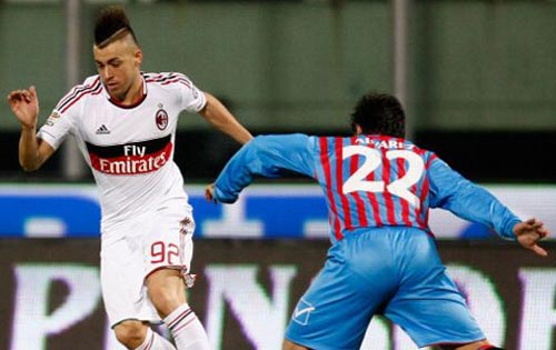 L'appassionante duello Alvarez-El Shaarawy (Getty images)