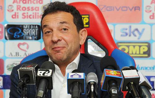 Il presidente Antonino Pulvirenti (Foto lasicilia.it)