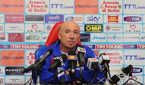 Rolando Maran in conferenza stampa (Foto sito ufficiale)