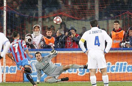 Lo storico cucchiaio di Mascara del 12-3-2010 (Catania-Inter 3-1)