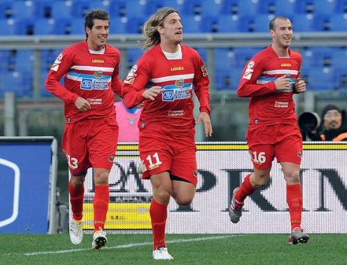 7 febbraio 2010: Maxi Lopez segna il gol-partita (Foto: Giuseppe Bellini)