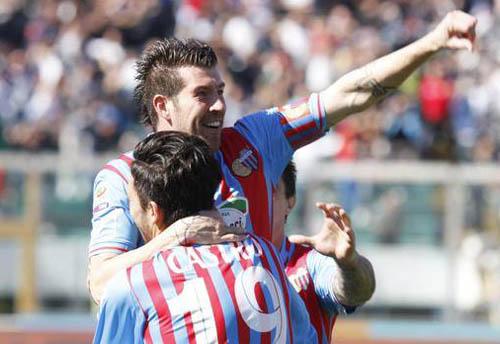 Izco segna il primo goal (LaPresse)